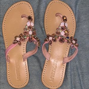 Mystique Pink Sandals